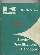 Kawasaki Specifications (96-97) KLX ZX GPX KZ VN KLT KLF ZL KL KX EN KV ZR >>>>