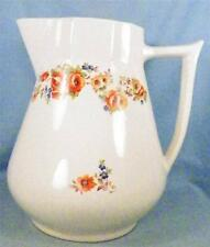 Royal Poppy Water Milk Pitcher C C Thompson Pottery Co Vintage Mid Century Retro