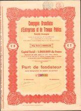 Compagnie Bruxelloise d'Entreprises & Travaux Publics (BELGIQUE) (C)