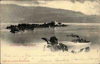 Gardasee Lago di Garda Italien Italia 1902 gelaufen nach Kornthal Isola Ferrari
