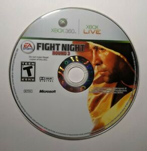 Fight Night Round 3 (Microsoft Xbox 360, 2006), Authentic, Pre-Owned