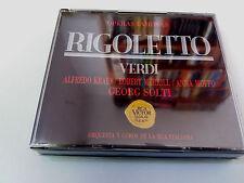 """GEORG SOLTI """"VERDI RIGOLETTO"""" 2CD ROBERT MERRILL ANNA MOFFO ALFREDO KRAUS"""