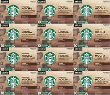 300 COUNT Starbucks Mocha Flavored Medium Roast Coffee K Cups Best Before 6/2020