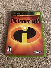 Incredibles (Microsoft Xbox, 2004) With Manual