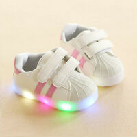kids shoes led light up sneakers boys running sneakers non-slip shoes for child