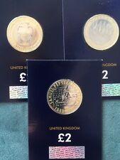 3 BU £2 Coins D DAY LANDINGS, SAMUEL PEPYS, WEDGWOOD
