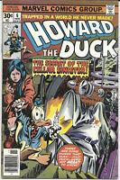 Howard the Duck #6 1976 FN+ Marvel Comics Free Bag/Board