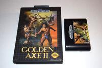 Golden Axe II Sega Genesis Video Game Cart w/ Box Only