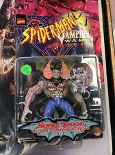 1996 Spiderman Vampire Wars Morbius Unbound Figure ToyBiz Complete