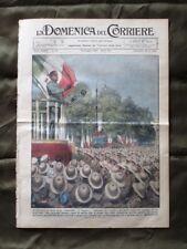 La Domenica del Corriere 23 Giugno 1935 Mussolini Tragedia Principi di Piemonte