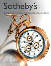 SOTHEBY'S IMPORTANT WATCHES, WRISTWATCHES & CLOCKS