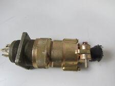 Mated Set 24 Pin ITT Military Grade Connector CA3106E24 28S-A101 - Lot #3