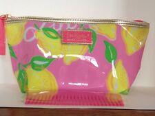 NEW Pink Estee Lauder Lilly Pulitzer Cosmetic Make Up Bag + pink comb