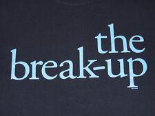 New THE BREAK-UP (Gag Gift) Movie Promo Size XL S.S. Navy t-shirt Jen Aniston.