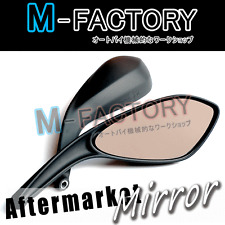 Aftermarket Black Mirrors Fit Ducati Monster 696 796 08 09 10 11 2012 Diavel