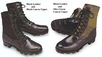 Vintage Style JUNGLE Military BOOTS US Army Marine Corps USMC USAF Combat 1-15