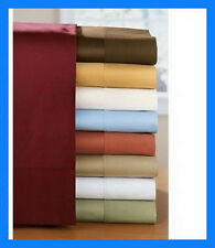 EGYPTIAN COMFORT DELUXE 1500  COUNT DEEP POCKET 4 PIECE BED SHEET SET 12 COLORS