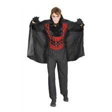 Vampire Adult Costume, Dracula, Horror, Men's Halloween Fancy Dress G11135