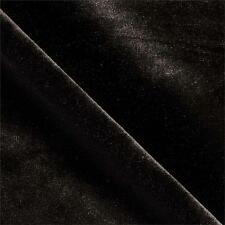 Black Velvet 4 Way Stretch Fabric By the Yard