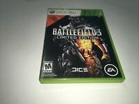 Battlefield 3 -- Limited Edition, Xbox360, Preowned, 2 Disc✅FreeShip ✅