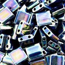 Miyuki Tila Beads 7.2gm Hang tube 2 Hole Glass Tile Seed Bead 5x5mm U-Pick