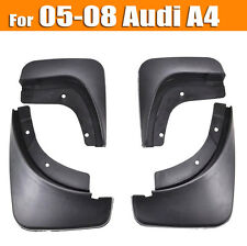 SET MOLDED MUDFLAPS FIT FOR AUDI A4 B7 05-08 MUD FLAPS SPLASH GUARDS MUDGUARDS
