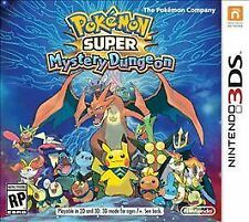 Pokemon Super Mystery Dungeon (Nintendo 3DS, 2015)