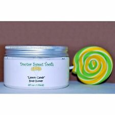 LEMON CANDY Whipped Scented Body Butter with Argan & Jojoba Oil PARABEN FREE 4oz