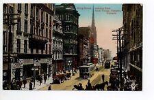 CANADA carte postale ancienne TORONTO 37 king street tramway