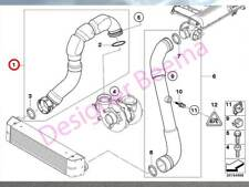 BMW X5 E53 30.d Turbo To Intercooler Charge Air Line Hose (JS)
