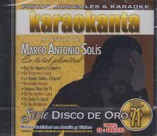 Marco Antonio Solis En Total plentitud Pistas Musicales & Karaoke New