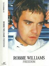 Robbie Williams ‎Freedom CASSETTE SINGLE 3 track inc. mixes 1996 Pop Rock
