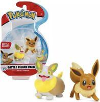 Pokemon Snubbull /& Eevee Battle Figure Pack Battle Ready *Brand New*