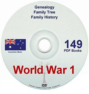 Family History Tree Genealogy World War One WW1 ANZAC diggers Australia NZ