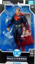 "DC MULTIVERSE JUSTICE LEAGUE SUPERMAN 6"" Inch /ca.18 cm FIGURE McFARLANE TOYS"