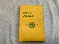 Vintage 1968 Dog Show Catalog Eastern Dog Club Boston with 2nd prize Ribbon