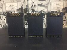 LOT 3 SET ZIPPO 1980'S KEY HOLDER ZIPPO