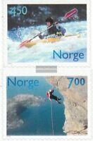 Norwegen 1383Do-1384Do (kompl.Ausg.) postfrisch 2001 Aktive Freizeit