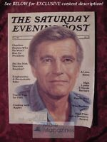 SATURDAY EVENING POST September 1984 CHARLTON HESTON ++