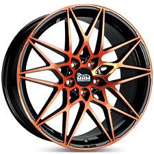 19 Zoll MAM B2 Alufelgen Black Orange OPC Design für Opel Insignia-A Lim. 0G-A