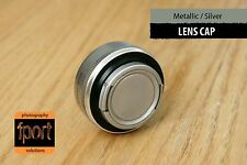 Silver Metallic Front Lens Protection Cap 43mm fit Leica Canon Nikon Olympus