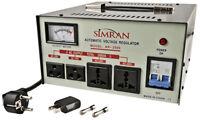2000 W Voltage Converter PLUS Stabilizer - Convert 110 220 Transformer Regulator