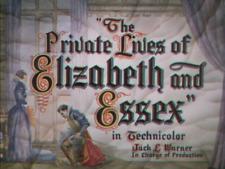 The Private Lives of Elizabeth and Essex 1939 DVD  Bette Davis, Errol Flynn