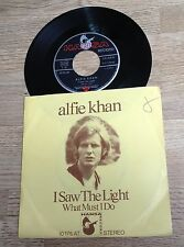 # 45 tours Afie Khan I saw the light / What must I do EXC
