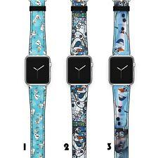 Frozen Apple Watch Band 38 40 42 44 Series SE 6 5 1 2 3 4 Wrist Strap iWatch S60