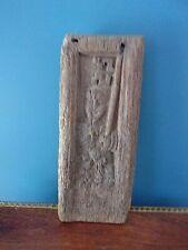 Panneau bois XVIe - Bas-relief d'un saint (St-Georges ?)
