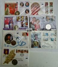 More details for five pound £5 first day covers job lot of 7    #318