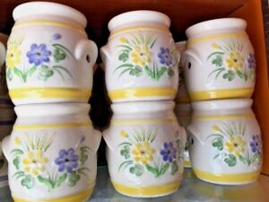 Blue & Yellow Daisy Tart Burner Wax Tealight fits Yankee Scentsy Thompson ❤️