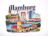 Hamburg Magnet Poly Souvenir Germany Elbphilharmonie Hafen