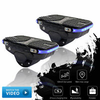 Portable Electric Skateboard Hovershoes Self Balancing Smart Hoverboard Shoes AU